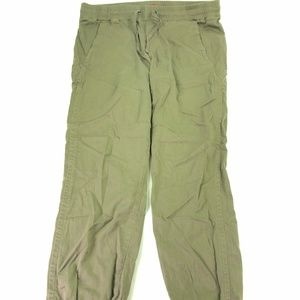 Union Bay Green Denim Relaxed Fit Joggers Sz N477